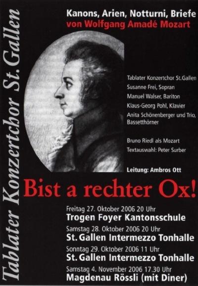 Briefe Von Mozart : Tablater konzertchor st gallen